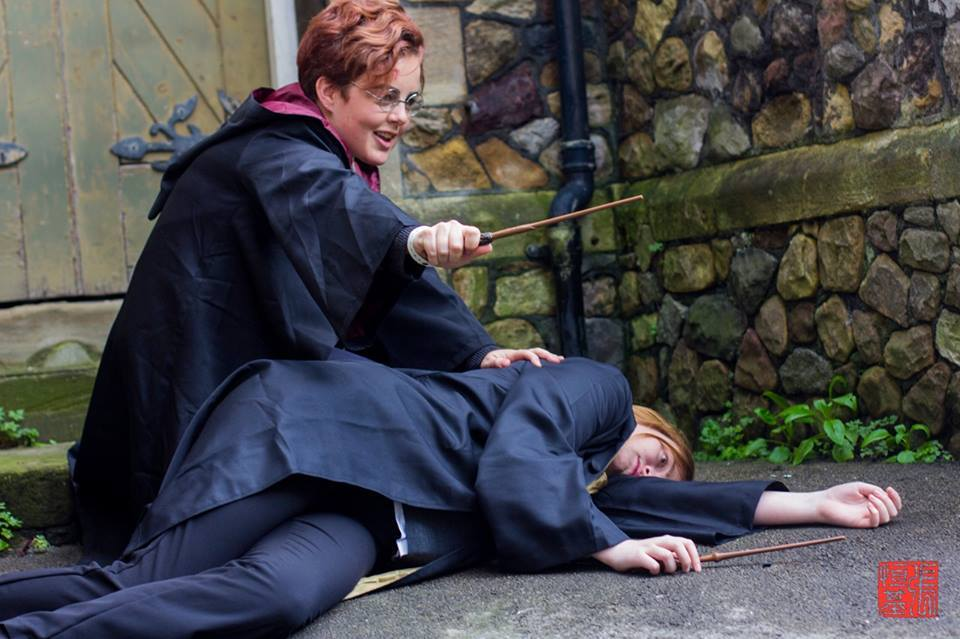 Photo by Eddie of Food and Cosplay, Harry cosplayed by Beyond Believing Cosplay