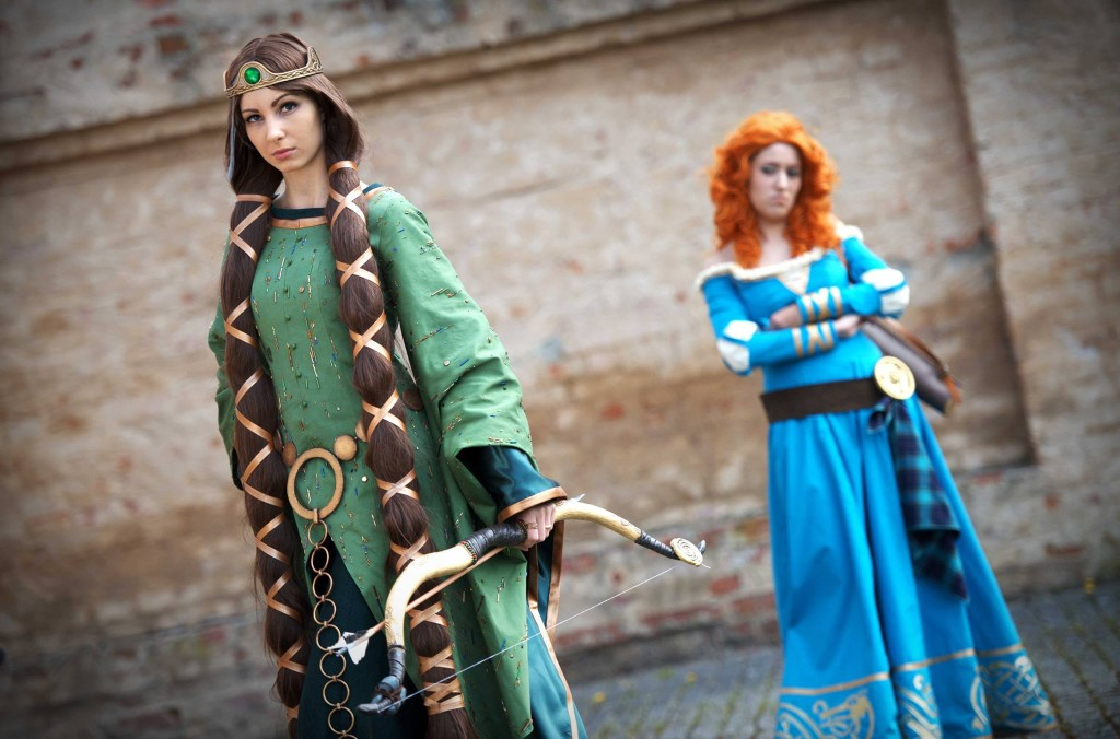 Photo by VW at Animuc2015, Merida cosplayer - Luminia Cosplay