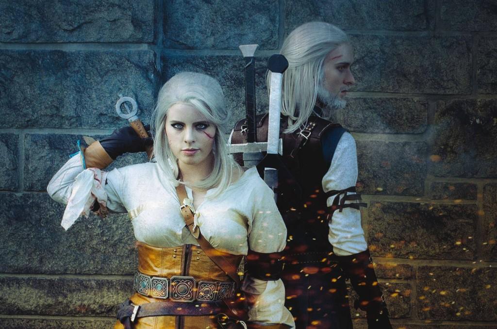 Geralt of Rivia by OSRG Cosplay, Ciri by Timeforlemontea, Ciri's Belt by Print My Props, Photo by DRportrait