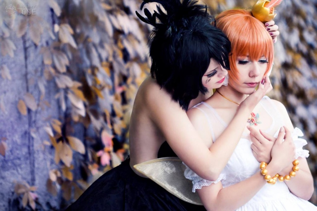 Fuwari Cosplay as Princess Tutu, Chatterbox Cosplay as Princess Krähe, Photo taken by Another Rose Cosplay and Photography