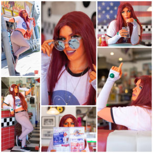Images of Candyylocks Cosplay as Starfire